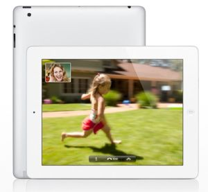 Apple, iPad Apple iPad Retina White - 64GB WiFi MD515SL/A