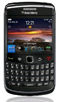 BlackBerry, Mobilní telefon pro seniory BlackBerry 9780 Black QWERTY - II. jakost