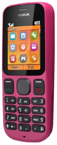 Nokia, Mobilní telefon pro seniory Nokia 100 Festival Pink