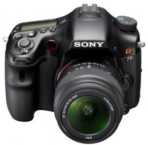 Sony, Fotoaparát Fotoaparát Sony Alpha SLT-A77VL + 18-55 DT SAM