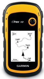 Garmin, Turistická GPS navigace Garmin eTrex 10