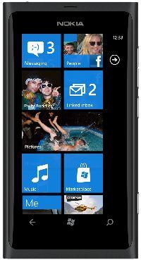 Nokia, Mobilní telefon pro seniory Nokia Lumia 800 Black - II. jakost