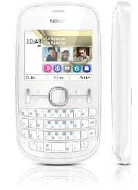 Nokia, Mobilní telefon pro seniory Nokia Asha 200 White