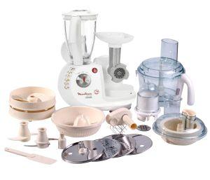 Moulinex,Plně vybavený kuchyňský robot Plně vybavený kuchyňský robot Moulinex FP7371B7 Odacio 4 Duo Super Maxipress