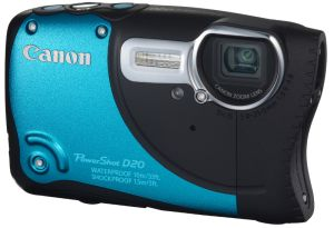 Canon, Fotoaparát Fotoaparát Canon PowerShot D20 Blue