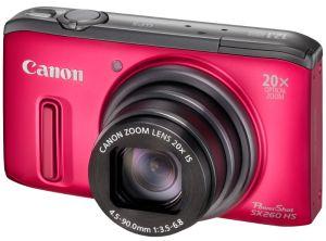 Canon, Fotoaparát Fotoaparát Canon PowerShot SX260 HS Red