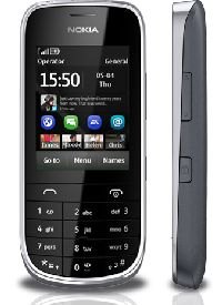 Nokia, Mobilní telefon Nokia Asha 203 Dark Grey
