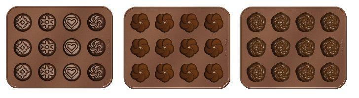 Tescoma, Pečení Tescoma Set Formičky na čokoládu Delícia Choco (999102)
