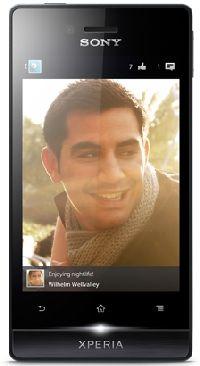 Sony, Mobilní telefon pro seniory Sony Xperia miro ST23i Black