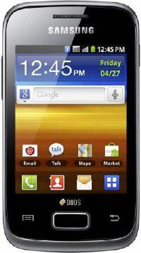 Samsung, Mobilní telefon pro seniory Samsung Galaxy Y Duos S6102 Black