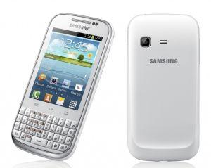 Samsung, Mobilní telefon Samsung Galaxy Ch@t B5330 bílý