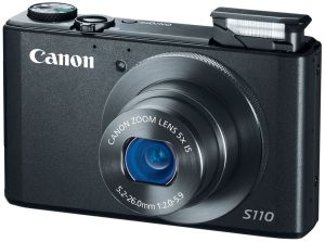 Canon, Fotoaparát Fotoaparát Canon PowerShot S110 Black