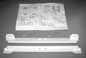 Indesit, Mezikus pro spojení pračky se sušičkou Mezikus pro spojení pračky se sušičkou Indesit KIT BRKT CONDENSER