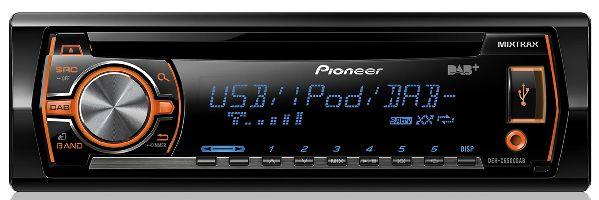 Pioneer, Autorádio s USB Pioneer DEH-X6500DAB