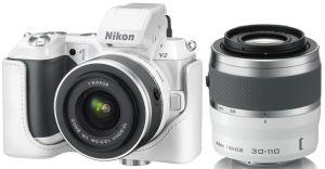 Nikon, Fotoaparát Fotoaparát Nikon 1 V2 White + 10-30 mm + 30-110 mm
