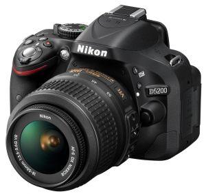 Nikon, Fotoaparát Fotoaparát Nikon D5200 Black + 18-55 AF-S DX VR