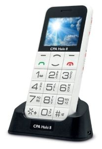 myPhone, Mobil pro seniory Mobil pro seniory myPhone Halo 8 bílý