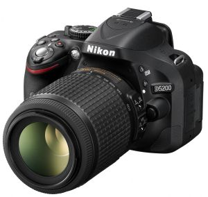 Nikon, Fotoaparát Fotoaparát Nikon D5200 + 18-55 AF-S DX VR + 55-200 AF-S VR
