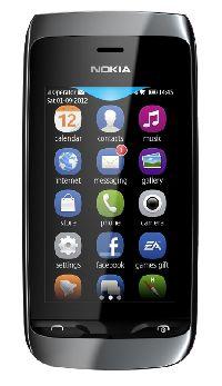 Nokia, Mobilní telefon Nokia Asha 309 černá