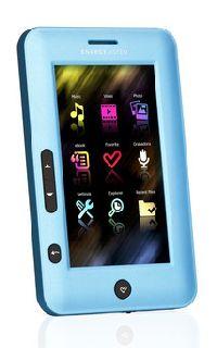 Energy Sistem, MP3/MP4 přehrávač Energy Sistem Color eReader C4 Touch / 4GB ( Metalic Blue )