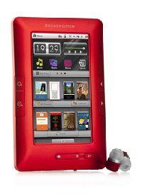 Energy Sistem, MP3/MP4 přehrávač Energy Sistem eBook Color eReader C4+ Touch (Titanium Red)