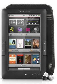 Energy Sistem, MP3/MP4 přehrávač Energy Sistem eBook Color eReader C7+ Touch / 8GB (Titamium Black)
