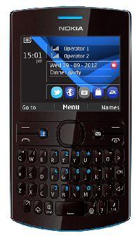 Nokia, Mobilní telefon Nokia Asha 205 (Dual SIM) Azurovo-vínová