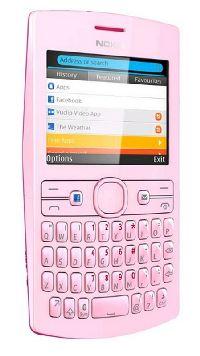 Nokia, Mobilní telefon Nokia Asha 205 purpurovo-růžová
