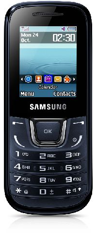 Samsung, Mobilní telefon Samsung E1280 černý - II. jakost