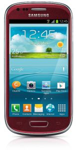 Samsung,  Samsung Galaxy S III mini i8190, NFC, Red
