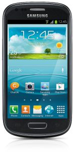 Samsung, Mobilní telefony  Samsung Galaxy S III mini i8190, NFC, Black