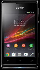 Sony, Mobilní telefony  Sony Xperia E, černá
