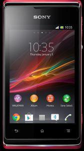 Sony,  Sony Xperia E, růžová