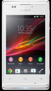 Sony, Mobilní telefony  Sony Xperia E, bílá