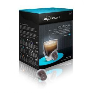Caffé Impresso, Kávovar Kávovar Caffé Impresso Decaffeinato, 16 balení