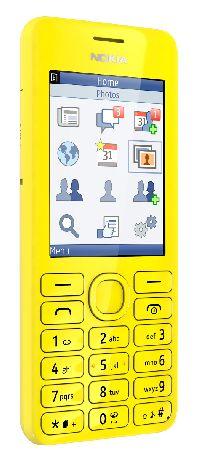 Nokia, Mobilní telefon pro seniory Nokia 206 Dual SIM žlutá