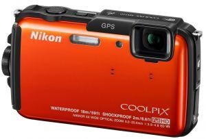 Nikon, Fotoaparát Fotoaparát Nikon Coolpix AW110 Adventure kit Orange