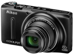 Nikon, Fotoaparát Fotoaparát Nikon Coolpix S9500 Black