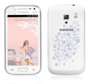 Samsung,  Samsung Galaxy Ace 2 i8160, White La Fleur