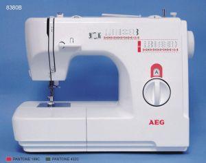 AEG, Šicí stroj s overlockem AEG 8380