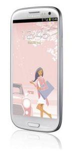 Samsung,  Samsung Galaxy S III i9300 White La Fleur