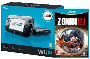 Nintendo, Nintendo WiiU Nintendo Wii U Zombi Premium Pack Black - Limited edition