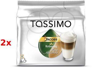 Bosch, Kávovar Kávovar Bosch T-Disc Latte Macchiato - 2x