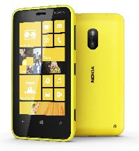 Nokia, Mobilní telefon pro seniory Nokia Lumia 620 žlutá