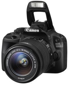 Canon, Fotoaparát Fotoaparát Canon EOS 100D + 18-55 mm IS STM + 1300 Kč zpět od Canonu!