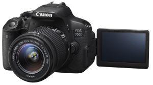 Canon, Fotoaparát Fotoaparát Canon EOS 700D + 18-55 mm IS STM + 55-250 mm IS II + 1300 Kč zpět od Canonu!
