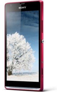 Sony,  Sony Xperia SP C5303, červená