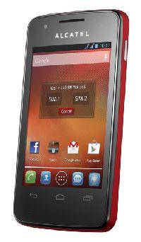 Alcatel One Touch, Mobilní telefon pro seniory Alcatel One Touch 4030D S´POP Cherry Red