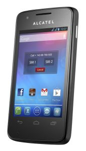 ALCATEL ONETOUCH,  ALCATEL ONETOUCH 4030D S´POP Raven Black