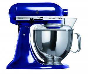 KitchenAid,Kobaltově modrý kuchyňský robot Kobaltově modrý kuchyňský robot KitchenAid 5KSM150PSEBU Artisan